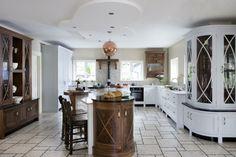 große Küche-königlicher Stil Ornamente