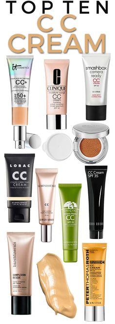 Top 10 CC Creams.