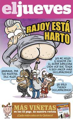 Rajoy está harto