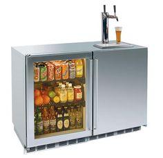 Refrigerator/Beer Keg HP48RT from Perlick