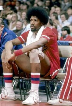 "Julius ""Dr. J"" Erving brought breathtaking athleticism along with a killer Afro to the NBA in the 1970s. He cut his hair and lost some of his vertical leap as he got older, but Erving was elegant all the way to the end."