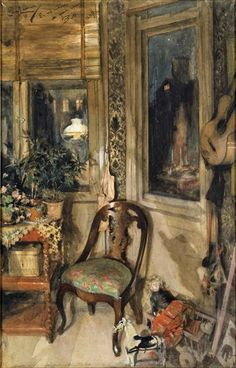 ART & ARTISTS / Carl Larsson - Toys in the Corner