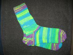 Handgestrickte+Socken+Gr.40/41+von+Heike`s+Zauberwerkstatt+auf+DaWanda.com