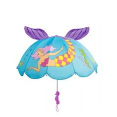 3D Mermaid umbrellas from our Back to School range - shop https://www.loveumbrellas.co.uk/collections/back-to-school-umbrellas