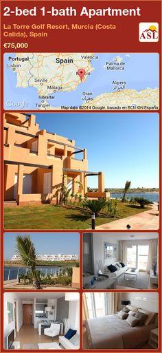 2-bed 1-bath Apartment in La Torre Golf Resort, Murcia (Costa Calida), Spain ►€75,000 #PropertyForSaleInSpain
