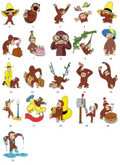 inages for Curious George - Google Search