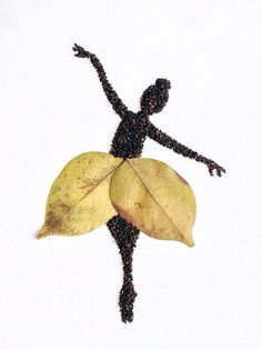 herbst fensterdeko kinder Artist Forms Clever Illustrations Out of Ground Coffee Autumn Crafts, Autumn Art, Nature Crafts, Autumn Leaves, Leaf Crafts, Flower Crafts, Art For Kids, Crafts For Kids, Arts And Crafts