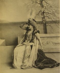 Lady Alexandra Colebrooke as Roxana, wife of Alexander the Great, at the Duchess of Devonshire's Diamond Jubilee Costume Ball, July 2, 1897.