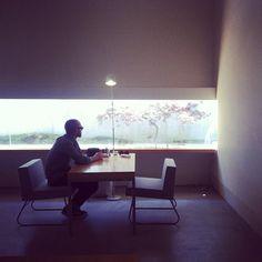 A-Womb, ichioji. Not a machiya, but a beautiful, gallery-like space with amazing food.