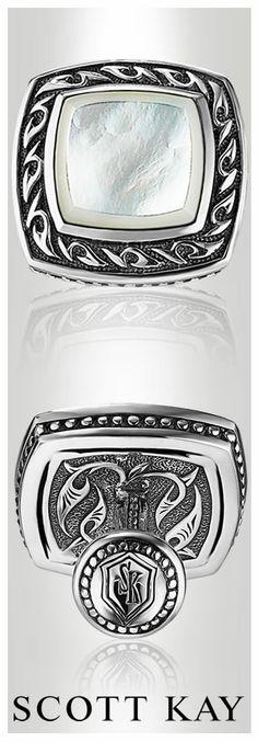 #ScottKay #cufflinks #menswear #groomsmen #groom #weddinggift #mensaccessories | www.goldcasters.com