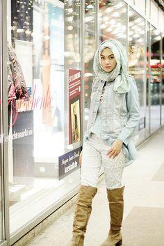 Indah Nada Puspita #hijab
