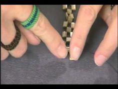 Video: Tubular Peyote Stitch using Miyuki Tila Beads by JohnBeadCorp. #Seed #Bead #Tutorials