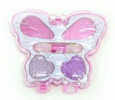 Maquiagem Formato de borboleta <br>ótimo para lembrancinha de festa de meninas <br>10 x 9 <br>12 quatidade minima
