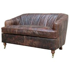 Elegant Leather #sofa. View our collection at http://www.inart.com/en/products/furniture/couches-daybeds