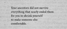 Ancestors | Nikita Gill | A lesson in resilience; a force to be reckoned with.