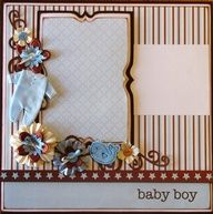 scrapbook page layout ideas - Google Search