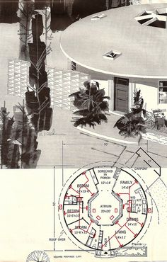 Reminds me of the Dharma Initiative from LOST. House & Garden Building Guide, 1966