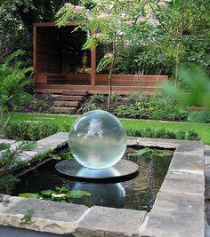 Pihalampi, vesipuutarha, vesiputous --- Backyard Ponds And Water Garden Ideas Ponds Backyard, Backyard Landscaping, Landscaping Ideas, Garden Ponds, Backyard Ideas, Koi Ponds, Modern Landscaping, Pond Ideas, Terraced Backyard
