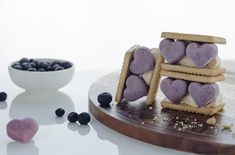 First #Food #Photography post.  Theme was #frozen so I made a quick and easy frozen #blueberry #coconut cream  and #vanilla blend. Then frozen in silicon #heart shaped molds.  They make an awesome front to an #icecreem sandwich. Fit for an adult who wants one?  @thebiteshot #biteshotfrozen Shot in Manual Diffused natural light (from behind) Reflector and white card used for fill S: 1/60 F: 3.2 ISO: 125 Lense: 50mm #NIKON Coconut Cream, Natural Light, Nikon, Blueberry, Manual, Food Photography, Fill, My Photos, Sandwiches