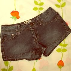 Jean shorts (never worn) Classic denim shorts at 50% off regular price. Rock on! Mudd Shorts Jean Shorts