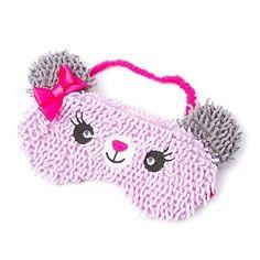 Amazon.com : Claire's Accessories Plush Bear Sleep Mask : Beauty