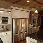 Not a fan of the style of the cabinetry, but LOVE the double idea! #necessary