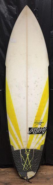 "5'10"" Potato Launcher by AJW Surfboards"