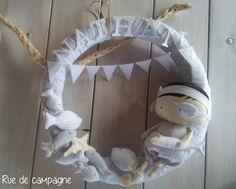 Ghirlanda di benvenuto - fiocco nascita - tilda's toy box - pirata