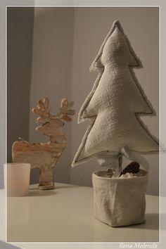 choinka, Boże Narodzenie, dekoracja, DIY
