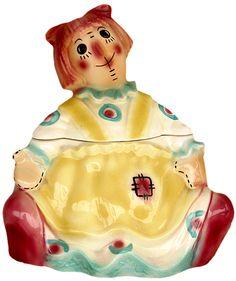 Vintage Raggedy Ann cookie jar