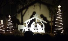 outdoor nativity, See my nativities at my website www.mynativity.com