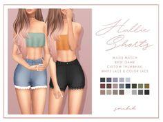 smubuh's Hallie Shorts