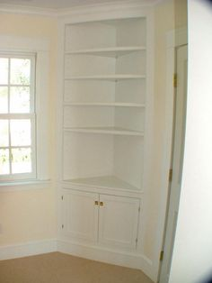 Floor To Ceiling Pantry Cabinets with + ideas about Corner China Cabinets on Pin… – Kitchen Pantry Cabinets Designs Corner Pantry, Corner Cupboard, Corner Shelves, Built In Shelves, Corner Hutch, Kitchen Corner, Floating Shelves, Corner China Cabinets, Blind Corner Cabinet