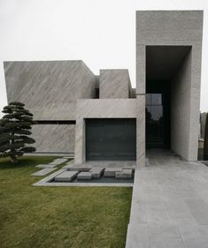 A-cero Architects--continue their amazing work with concrete through the unique Open Box House, a highly contemporary residence located on the outskirts of Madrid.