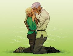 Rowan and Aelin by meabhd. Heir of Fire. Queen of Shadows. Empire of Storms. Sarah J Maas