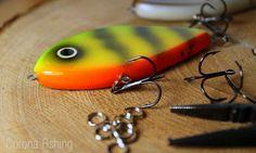 Abor - to jerk tonący, uzbrojony w kotwice Sasame nr 1. #wędkarstwo #przynęty #handmade #rękodzieło #jerki