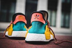 ce210534e Pharrell Williams x adidas NMD Human Race Trail Sun Glow EQT Yellow - Where  to
