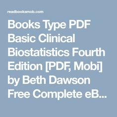Best free books the art of mackin pdf by tariq nasheed online for books type pdf basic clinical biostatistics fourth edition pdf mobi by beth dawson fandeluxe Gallery