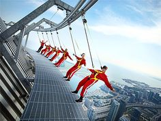 "Edge Walk at the CN Tower – Toronto, Canada  ""The EdgeWalk experience at the CN Tower is a bucket list reason for coming here - an amazing activity!"" - Photo from TripAdvisor"