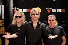 Jon Bon Jovi, David Bryan, Tico Torres. :-)