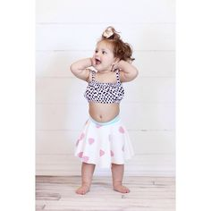 Baby skirt / twirly / Shelley Bee Originals baby maxi