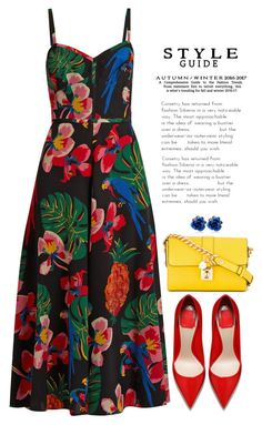 Untitled #1693 by seventeene on Polyvore featuring polyvore fashion style Valentino Dolce&Gabbana clothing