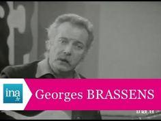 """Georges BRASSENS """"Auprès de mon arbre"""" (live) - archive vidéo INA"""