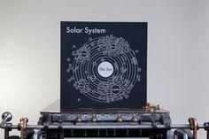 Solar System Letterpress Print at londonfieldsshoppe.com