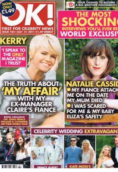 OK! Magazine Trust Me, Celebrity News, Affair, Magazines, Interview, Celebrities, Movie Posters, Journals, Celebs
