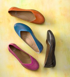 Dansko Neely Cut-Out Flats For Women - comfy and cute!