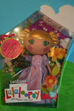 Custom OOAK Lalaloopsy Doll LaPunzel Rapunzel by LalaLovelyLeila, $115.00