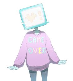 Pastel game over