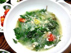 Korean fish herb stew DODARI SOOK KOOK