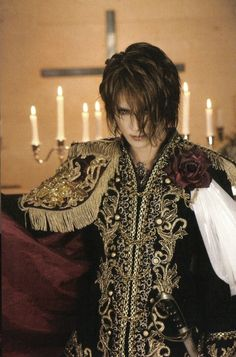 I could see the Crimson King wearing something like this! Dark Prince Charming